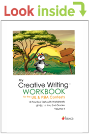 look inside creative writing workbook volume 4