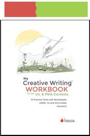look inside creative writing workbook volume-5 for grades 1-2