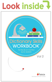 look inside dictionary skills workbook volume 2
