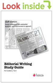 look inside editorial writing study guide