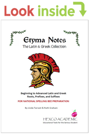 look inside etyma notes latin and greek collection