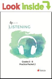 look inside listening practice packet 1