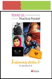look inside listening skill practice packet 2 grades 5-8