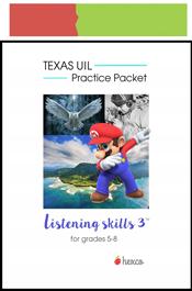 look inside listening skill practice packet 3 grades 5-8