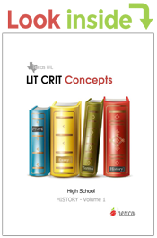 look inside lit crit concepts volume 1