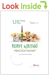 look inside ready writing practice packet 3-4