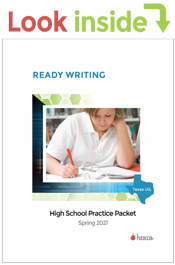 look inside ready writing practice packet spring 2021