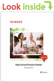 look inside science practice packet spring 2021