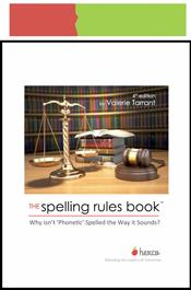 look inside spelling rules book