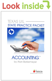 look inside uil accounting state practice packet