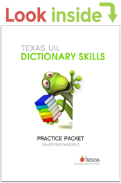 look inside uil dictionary skills practice prackets