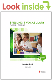 look inside uil spelling vocabulary 7-8
