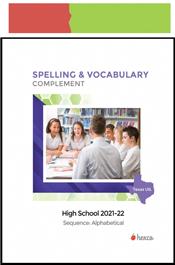 look inside uil spelling vocabulary high school alphabetical