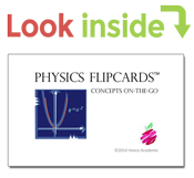 look inside physics flipcards