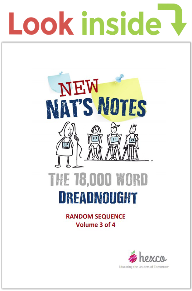 look inside new nat's notes random sequence