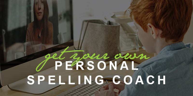 get your own personal spelling coach