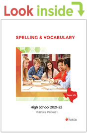 look inside spelling and vocabulary practice packets 1 2021-22