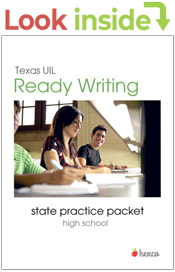 Look inside ready writing state practice packets