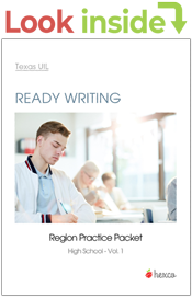 ready writing vol. 1 practice packets look inside