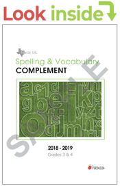 spelling vocabulary complement 3-4 look-inside