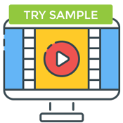 try free sample video