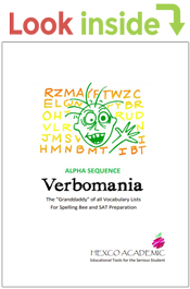 look inside verbomania alpha sequence