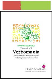 look inside verbomania random sequence