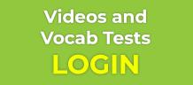 videos vocab tests login
