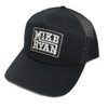 Mike Ryan Black Puff Patch Cap- Black
