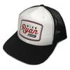 Mike Ryan Vintage Snapback Cap - White/Navy