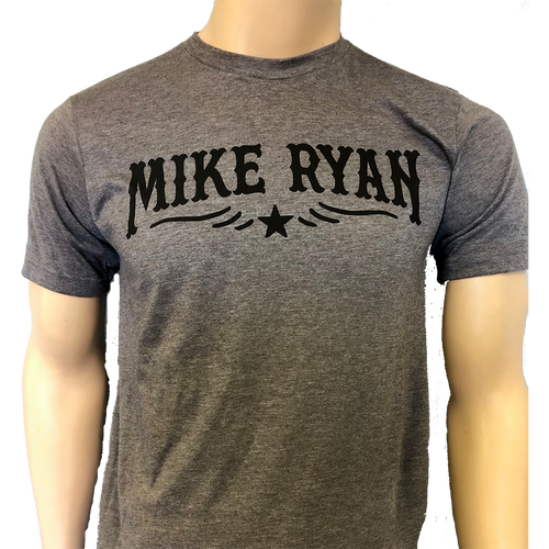 Mike Ryan Star Tee- Heather Brown