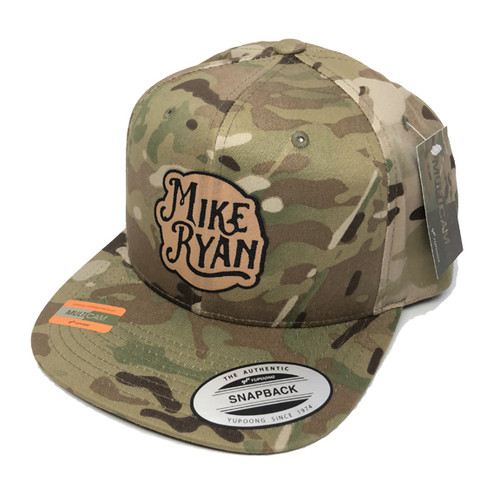 Mike Ryan Camo Snapback Cap