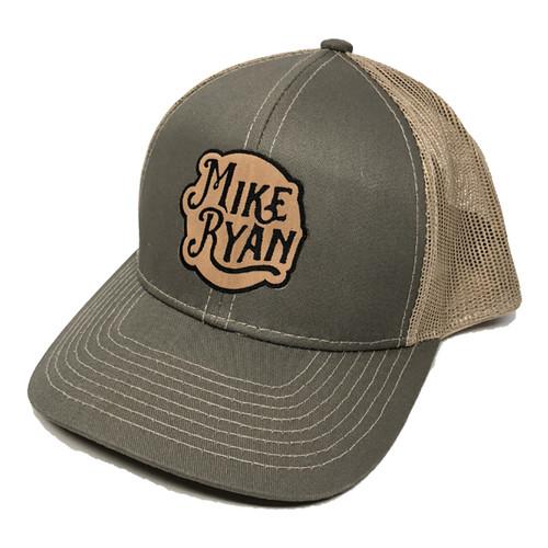 Mike Ryan Olive/Tan Snapback Cap