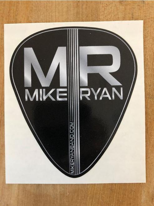 Mike Ryan Guitar Pick Sticker