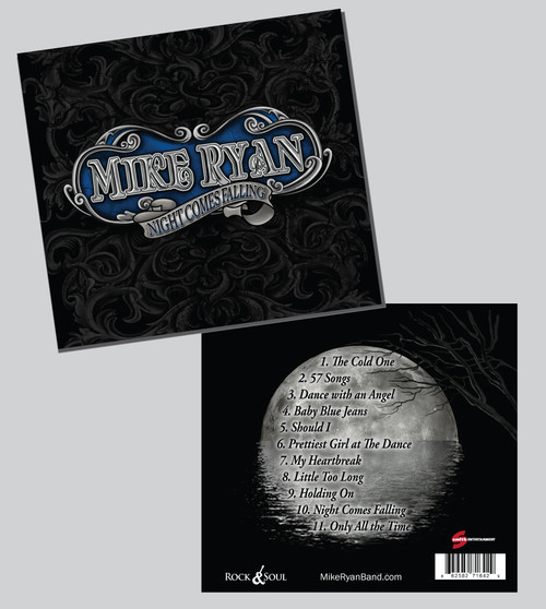Mike Ryan - Night Comes Falling - CD