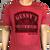 Gunny's Vintage Tee - Red
