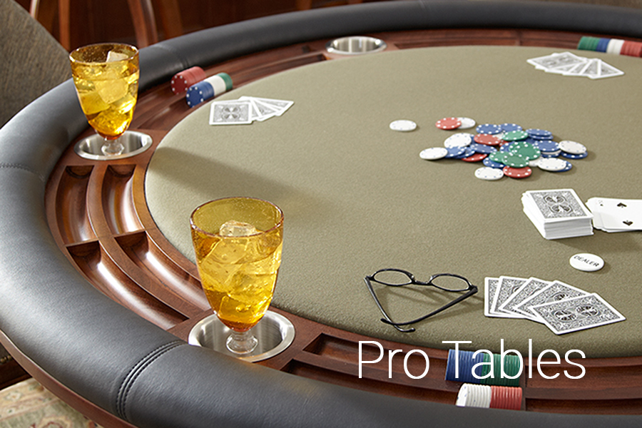Professional Poker Tables by Jack Game Room