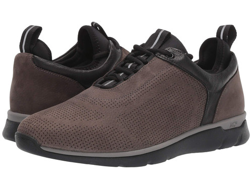 Johnston & Murphy Prentiss U-Throat Charcoal Nubuck