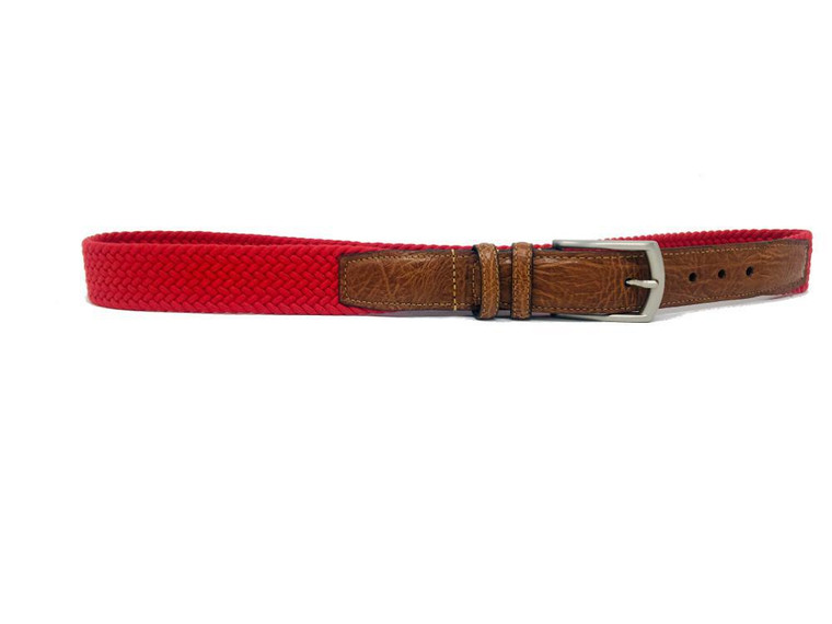 "Torino Cotton Stretch Red 36"""