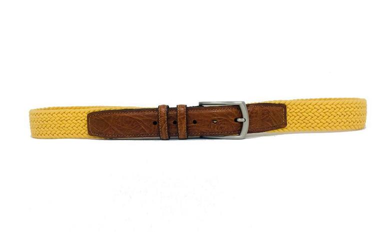 "Torino Cotton Stretch Yellow 38"""
