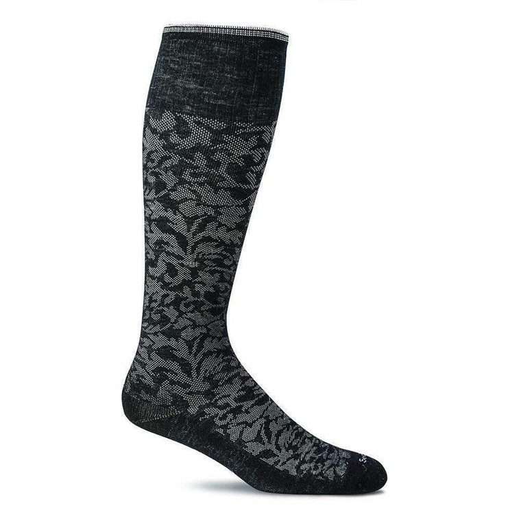 Sockwell Damask Black M/L