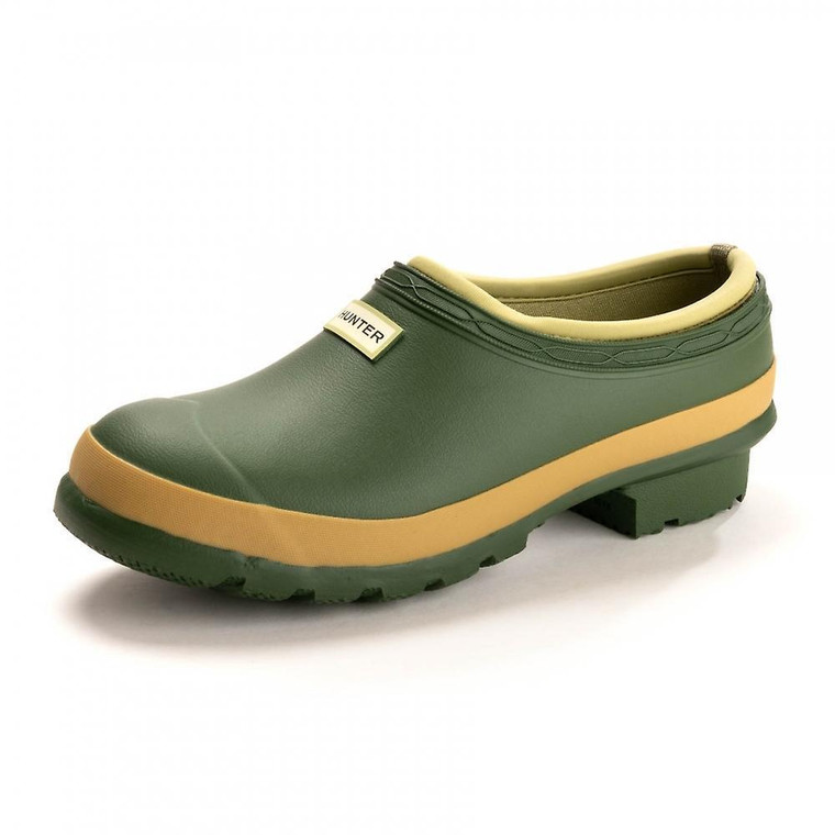 Hunter Gardener Clog Vintage Green