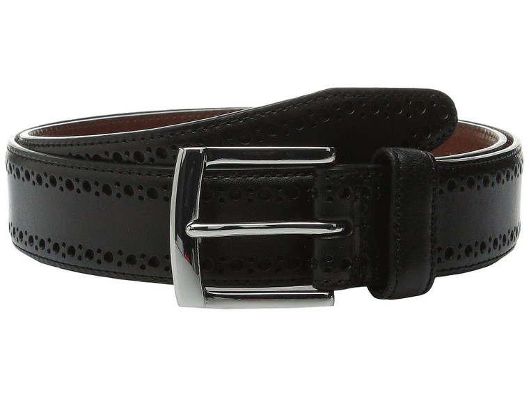 Johnston & Murphy Perforated Edge Belt