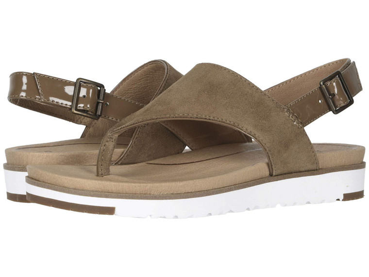 UGG Alessia Sandal Coffee Grounds