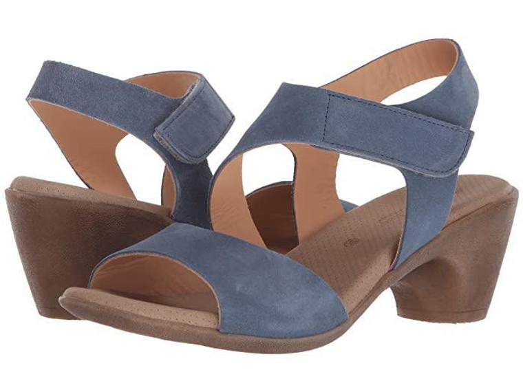 Eric Michael Sarit Blue Sandal