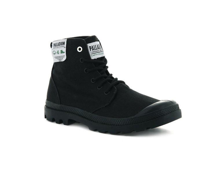 Palladium Pampa Hi Organic Black Boot