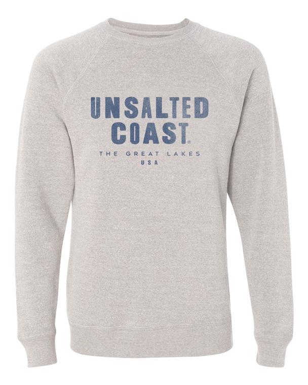 Unsalted Coast Ivy League Crew Stone