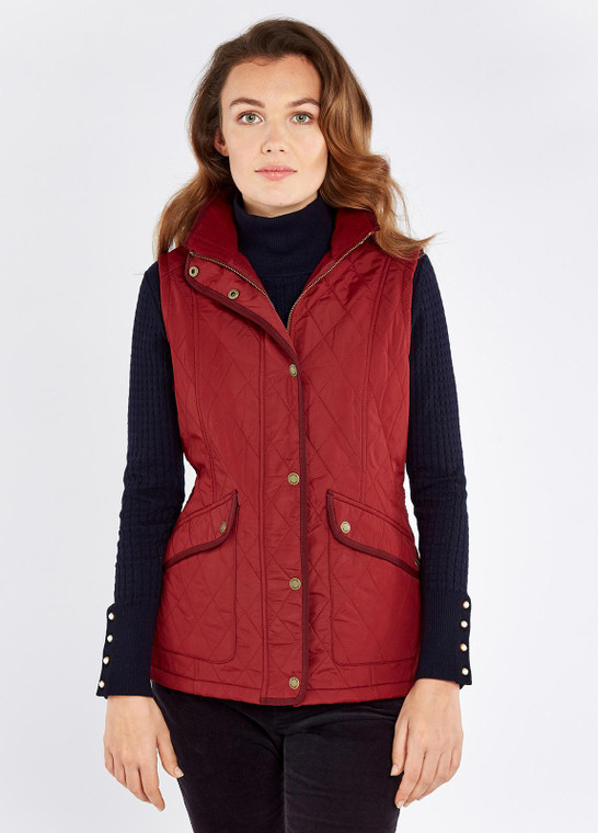 Dubarry Clonmel Ruby Vest