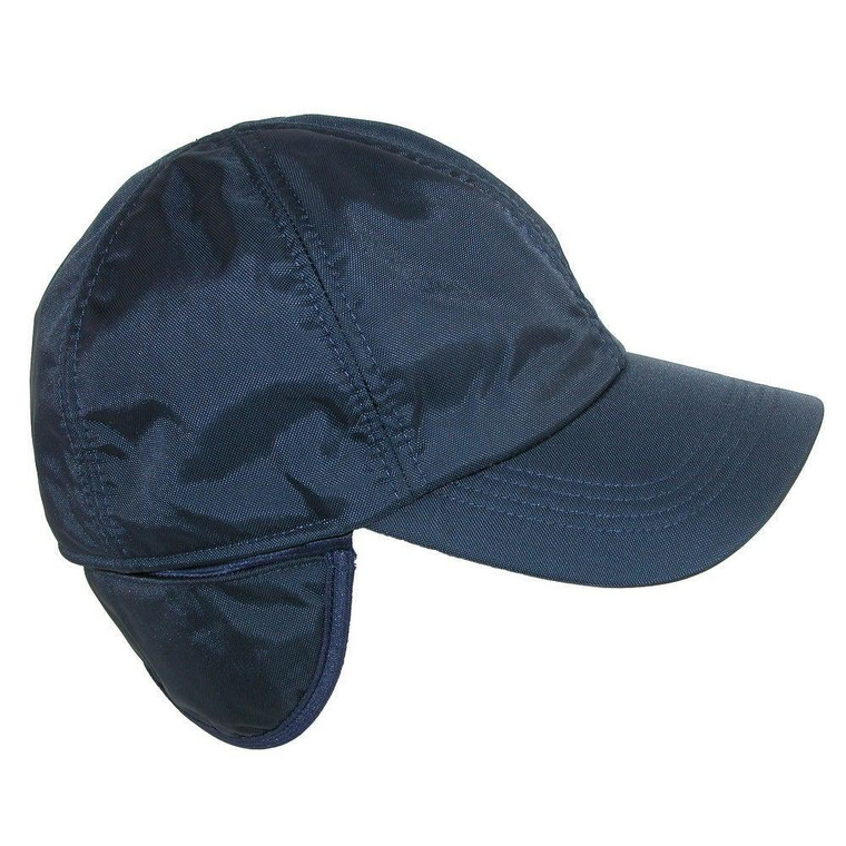 Wigens Black Nylon Baseball Cap