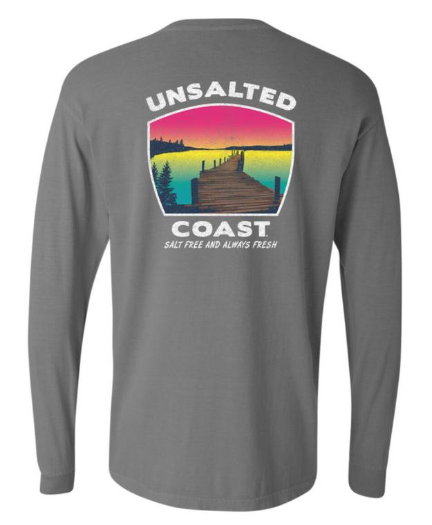Unsalted Coast L/S Dock Grey
